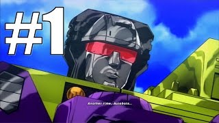 Transformers Devastation Story mode Walkthrough Part 1 No Commentary HD