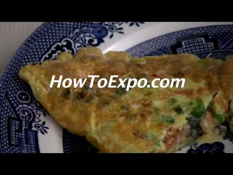 How To Cook An Omelette with vegetables