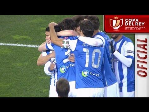 Todos los goles de Real Sociedad (3-1) Racing de Santander Copa del Rey