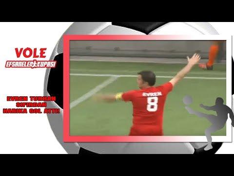 Vole Efsaneler Kupası | Evren Turhan yeteneğini konuşturdu! Neredeyse sıfırdan golü attı