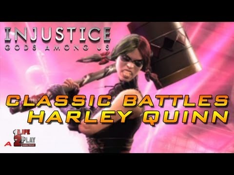 Injustice: God Among Us Classic Battles with Harley Quinn