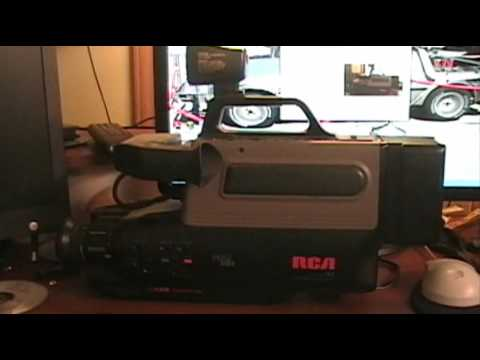 The 1990 Rca Proedit Camcorder