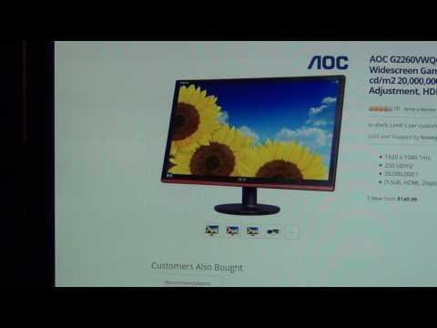 AOC G2260VWQ6 Freesync 1080p 22