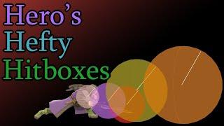 Explaining Hero's hefty hitboxes (Smash Ultimate)
