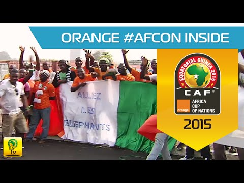 Arrival of Côte d'Ivoire in Malabo - Orange Africa Cup of Nations, EQUATORIAL GUINEA 2015