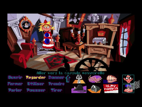 Day of the Tentacle en français sur PC (4 de 8)