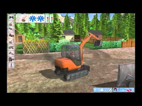 Bagger-Simulator 2011 Gameplay
