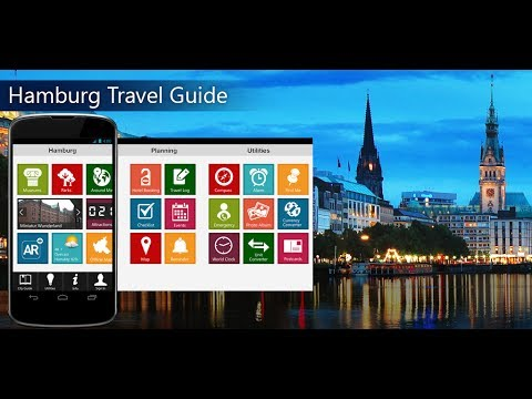 Hamburg Travel Android App Promo - Pangea Guides