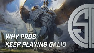 Why pros keep playing Galio (Leave Parth alone)
