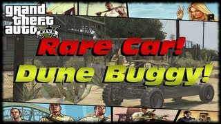 GTA 5 Where To Find The BF Dune Buggy! GTA V Rare & Secret Car Spawn Locations Guide!