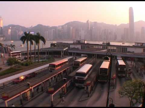 Hong Kong Bus Terminal Time Lapse