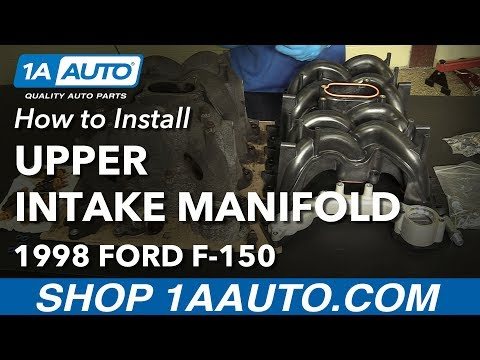 How to Install Replace Upper Intake Manifold 1997-06 V8 4.6L Ford F-150