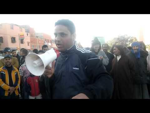 ساكنة سيدي المختار اقليم شيشاوة تنتفض ضد الأوضاع المزرية بالمنطقة