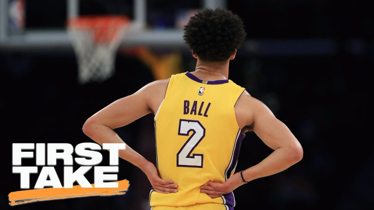 Paul Pierce says Lonzo Ball is worth the hype, just not right now | First Take | ESPN