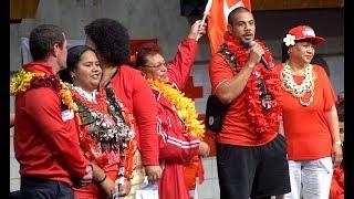MATE MA'A TONGA National Rugby League Team Welcome   Manukau NZ 24