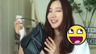 【Book】Unboxing Haul Dior Saddle Bag 今年最火的迪奥马鞍包快来pick一下~哈哈
