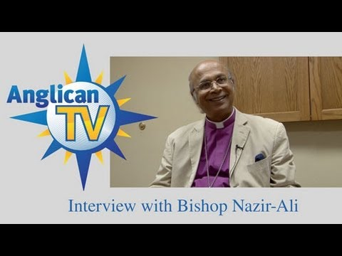 AnglicanTV interviews Bishop Nazir-Ali