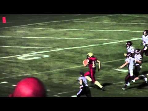 Zac Quatrone Rushing Touchdown Serra Catholic High School