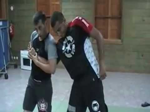 Jeet Kune Do entering to boxing to elbow lock and control Image 1
