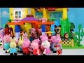 Peppa Pig And Masha and The Bear Blocks Mega House Construction Lego Sets Fun Toys For Kids