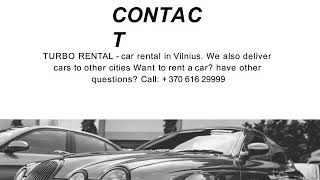 Turbonuoma    Best Online Place To Book Autonuoma Or Car Rental