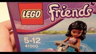 LEGO Review - LEGO Friends 41000 Water Scooter Fun