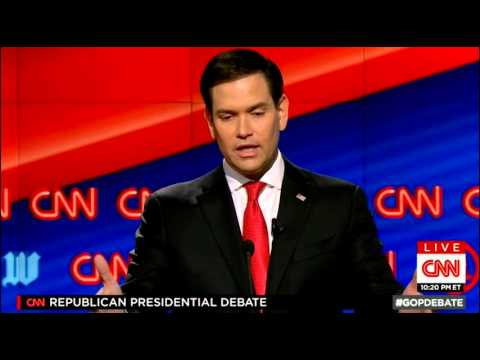 Marco Rubio: Nothing We Can Do About Climate Change (3/10/16 Republican Debate)