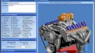 Engine Builder 3D - Small Block Chevy