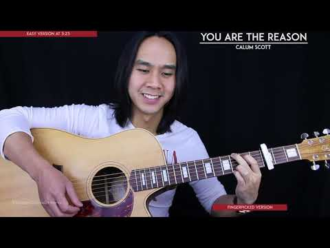 Download Lagu  You Are The Reason Guitar Cover Acoustic - Calum Scott 🎸 |Tabs + Chords| Mp3 Free