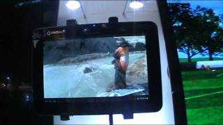 Qualcomm glasses free full HD 3D tablet demo