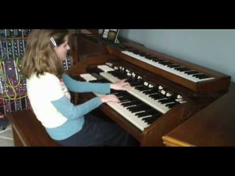 Rachel Flowers - Tarkus with Emerson's Modular Moog Music Videos