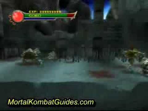 Mortal Kombat Shaolin Monks Goro Hack