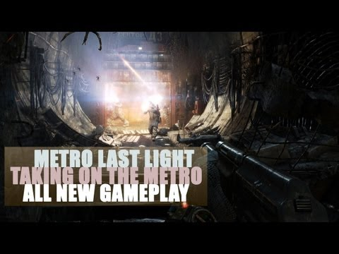 Metro Last Light - All New Gameplay: Taking on the Factory Floor