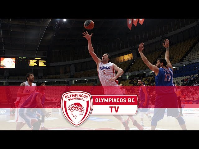 HIGHLIGHTS OLYMPIACOS BC - PANIONIOS 15-5-2014