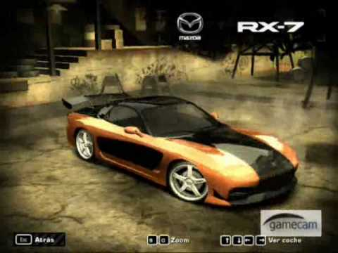 coches rapido y furioso en nfs most wanted - YouTube