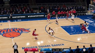 NBA LIVE 19 2020 ROSTERS!  ROCKETS vs KNICKS LIVE STREAM!