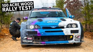Fully Sideways in the Cossie V2! Full Gravel Rally Test Before Ken Block's First Race of 2019