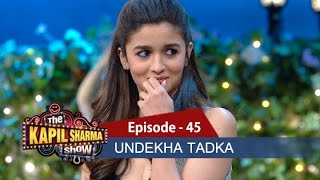 Download Undekha Tadka - Ep 45 - Alia Bhatt & Varun Dhawan - The Kapil Sharma Show 3Gp Mp4