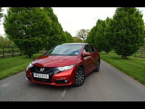 2014 Honda Civic 1.6 i-DTEC SR Diesel Review: Inside Lane