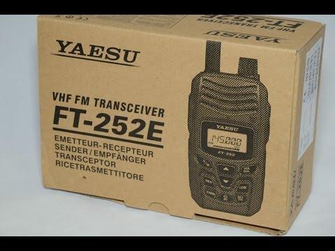 Yaesu FT-252E 2m VHF Ham Radio Review