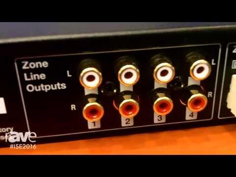 ISE 2016: Russound Details XZone4 4-Stream, 4-Zone Audio System