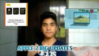 APPLE 2 BIG UPDATES || Activity Challenge on Apple Watch Focuses on Yoga  Apple MacBook Pro 15-Inch