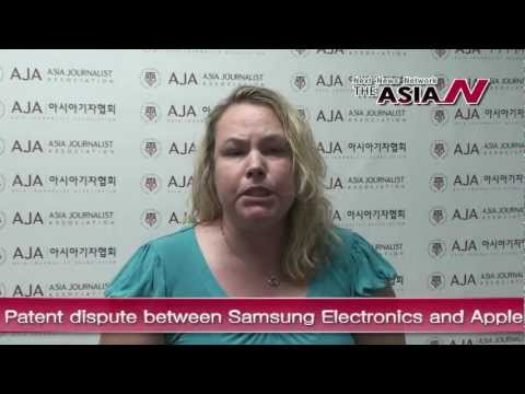 [The AsiaN Video] Patent dispute between Samsung Electronics and Apple