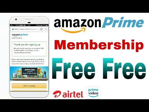 Get amazon prime membership free || amazon prime || prime video