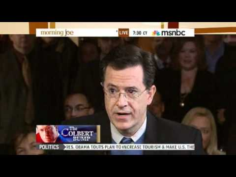 Stephen Colbert on MSNBC's Morning Joe (Part 1)