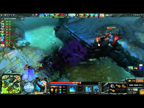 Team Tinker vs Virtus.Pro Game 3 - ESL One New York EU Qualifier - @DotaCapitalist & @Zai_2002