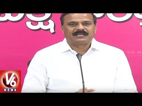 TRS MLC Karne Prabhakar Fires On Congress Leader Jeevan Reddy Over Kaleshwaram Project | V6 News
