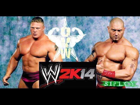 WWE 2K14 Batista vs Brock Lesnar OVW  REMAKE Batista Vs Brock Lesnar Ovw