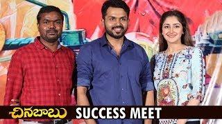 Chinna Babu Success Meet      Karthi, Sayyeshaa, Sathyaraj   D. Imman