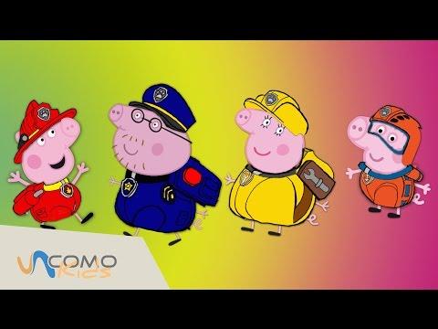 ¡Peppa Pig se disfraza de Patrulla Canina! - Paw Patrol en Español
